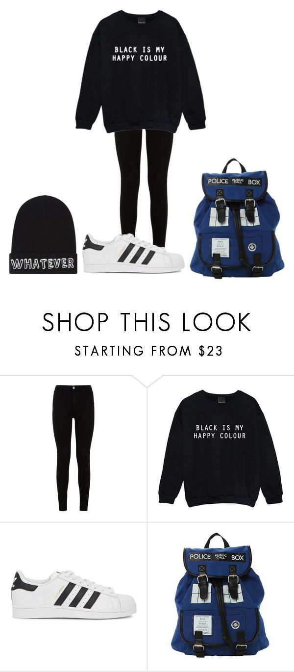 """""""Untitled #79"""" by lovely-5sos ❤ liked on Polyvore featuring 7 For All Mankind, adidas Originals and Local Heroes"""