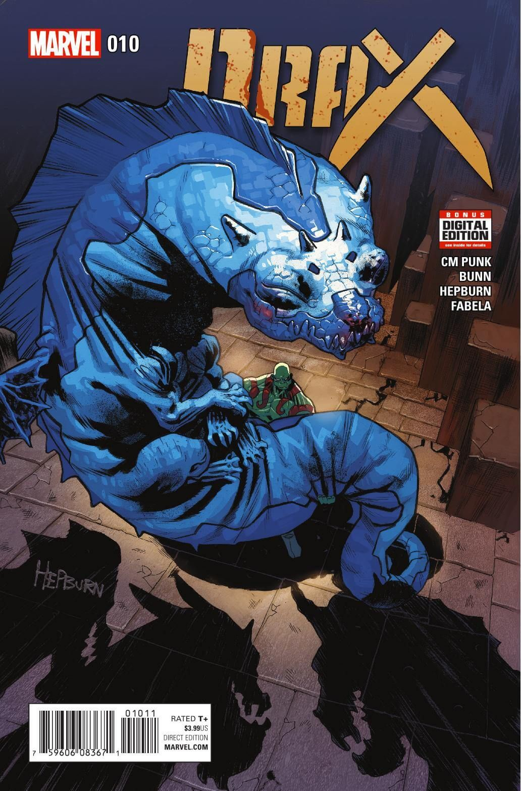 Preview: Drax #10, Story: Cullen Bunn & C.M. Punk Art: Scott Hepburn Cover: Scott Hepburn Publisher: Marvel Publication Date: August 24th, 2016 Price: $3.99  ...,  #All-Comic #All-ComicPreviews #C.M.Punk #Comics #CullenBunn #Drax #Marvel #previews #ScottHepburn