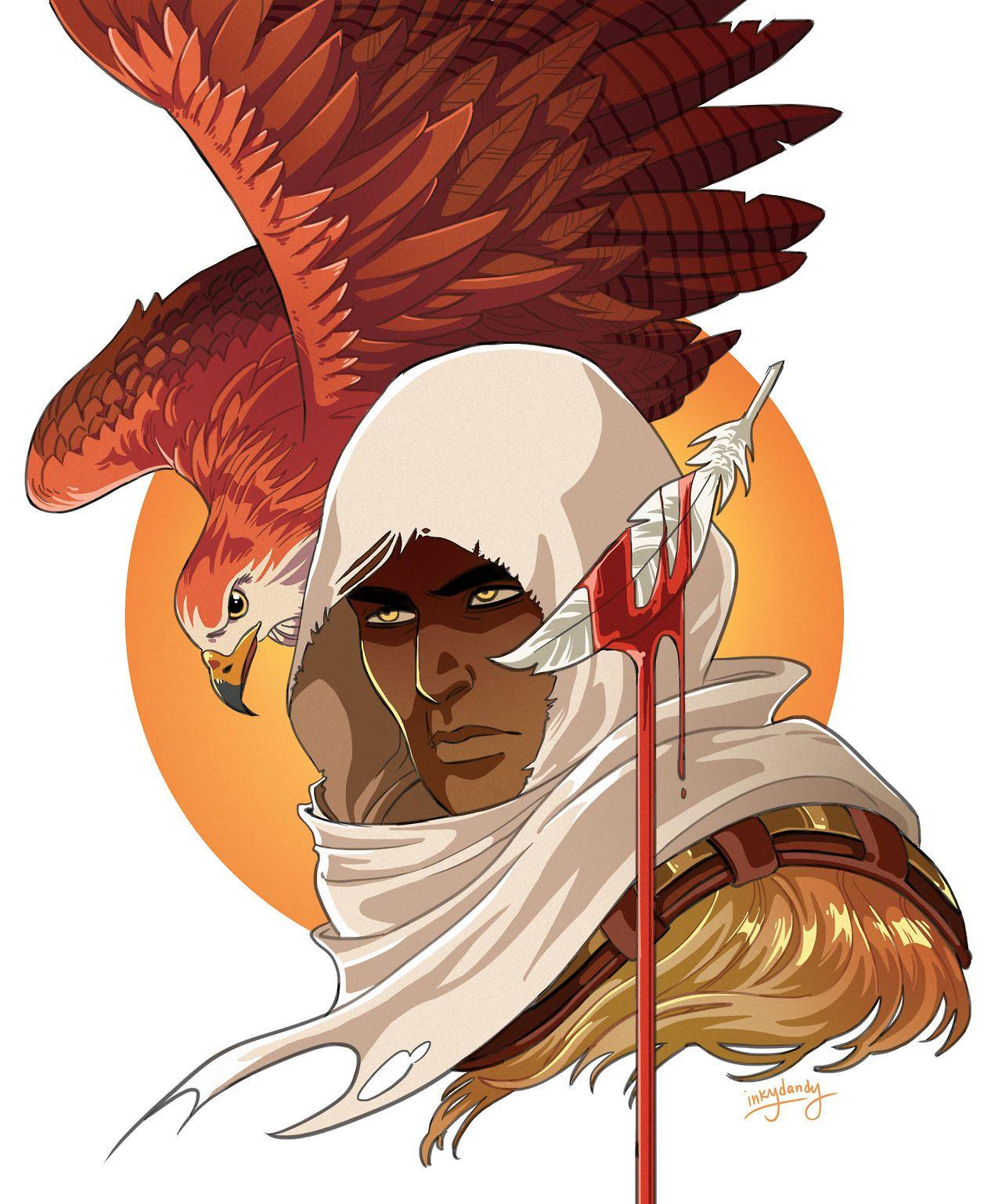 Bayek Senu Assassin S Creed Origins Assassins Creed Artwork Assassins Creed Art Assassins Creed