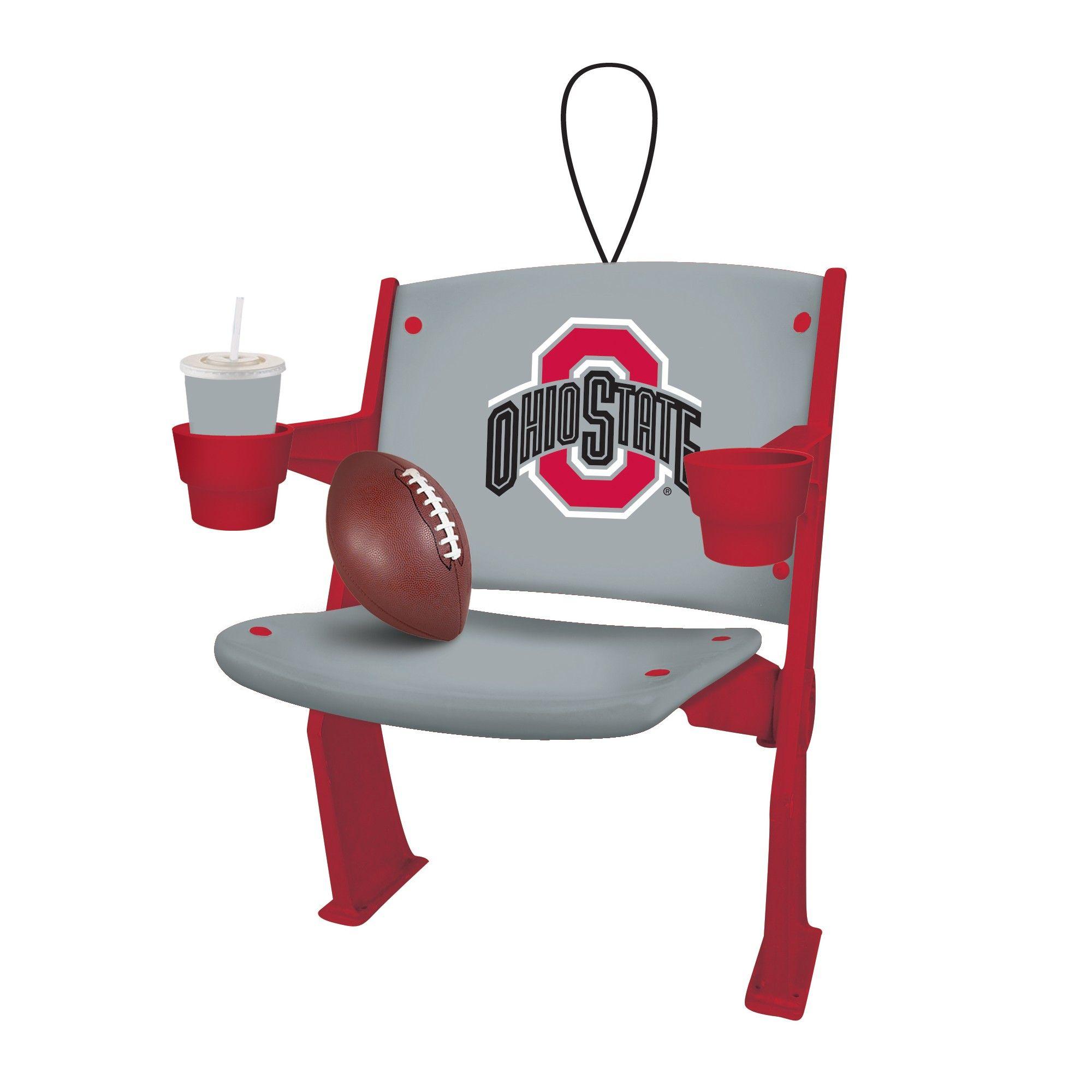 Ncaa Ohio State Buckeyes Chair Ornament Ohio State Buckeyes Ohio State Stadium Ohio