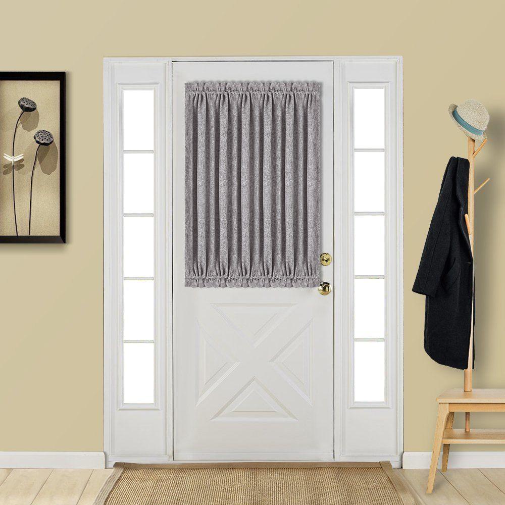 Best Dreamcity Single Panel Linen Look Rod Pocket Blackout Curtain
