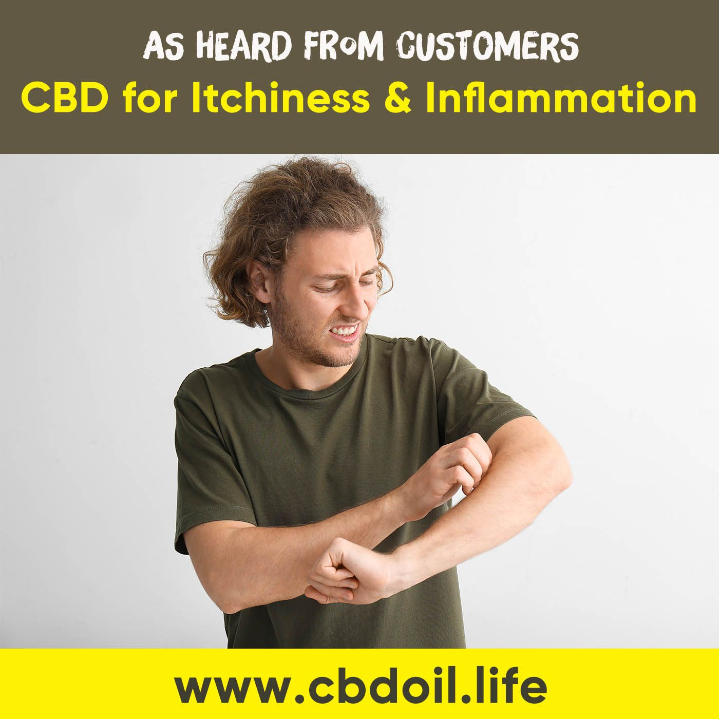 CBD for Itchiness and Inflammation from a That's Natural Customer