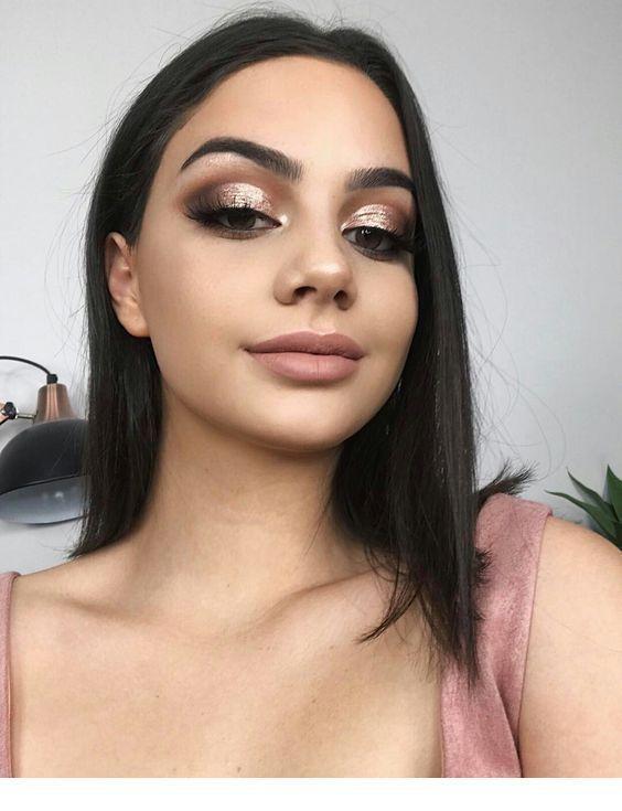 Photo of Superb Bronze Augen Make-up   Inspirierende Damen –  Superb Bronze Augen Make-up…