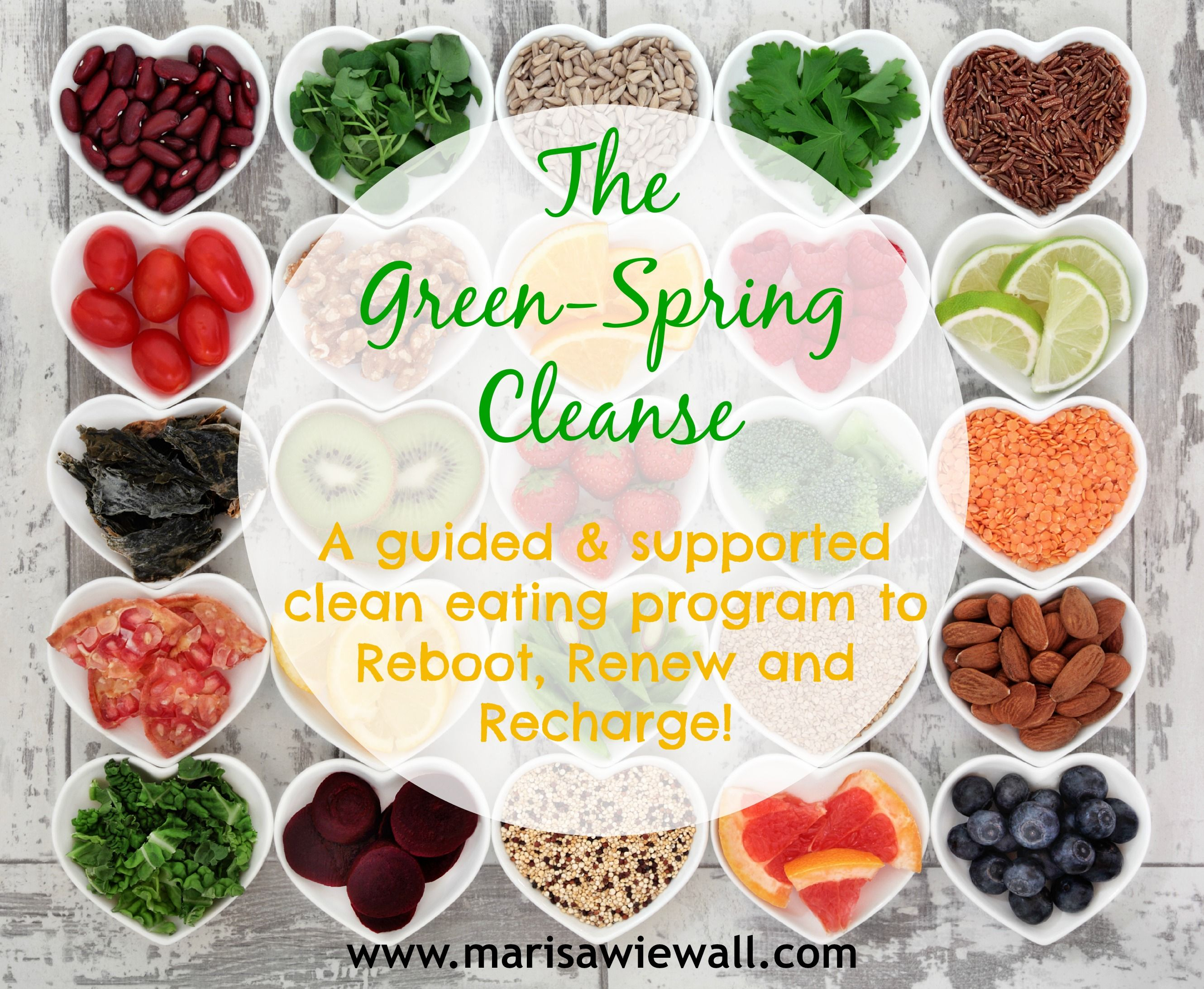 Join me and the group for this 14-day Spring Clean adventure! www.marisawiewall.com/spring-cleanse