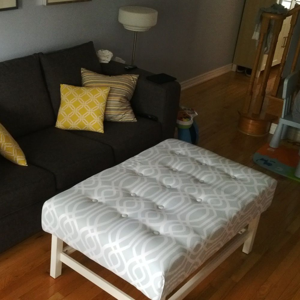 Home With Carissa Ikea Lack To Tufted Ottoman Hack Ikea Lack Table Ikea Coffee Table Home Decor [ 1600 x 1600 Pixel ]