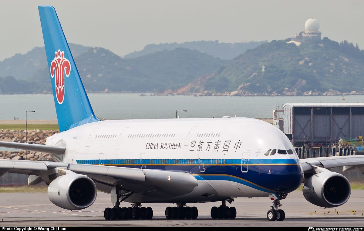 A380 China Southern Airlines imagens)