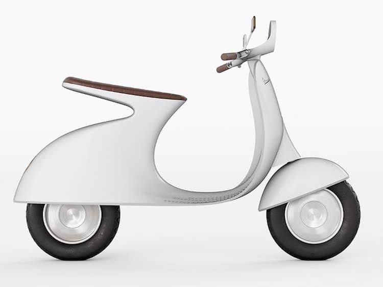 Electric Vespa Reimagines Classic Italian Vehicle With A
