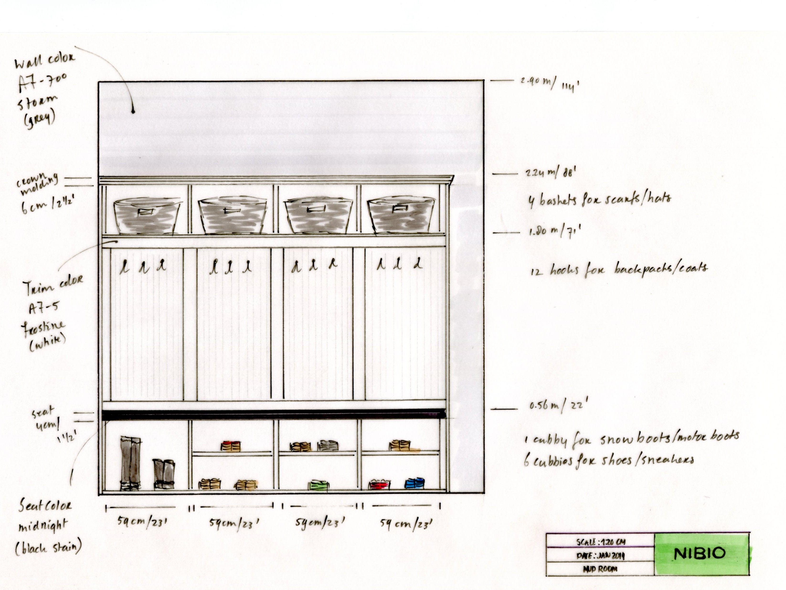 Pin By Alexis Solomon On Marvellous Millwork Mudroom Cabinets Diy Furniture Plans Mudroom