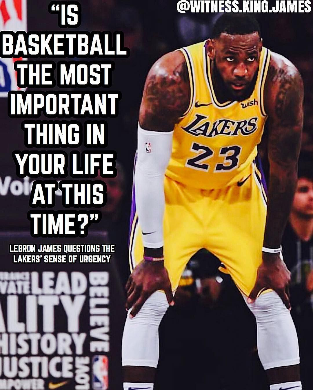 Are The Lakers Making The Playoffs At This Point Witnesskingjames Follow Witness King James For More Kingjam Lebron James La Lakers Lakers