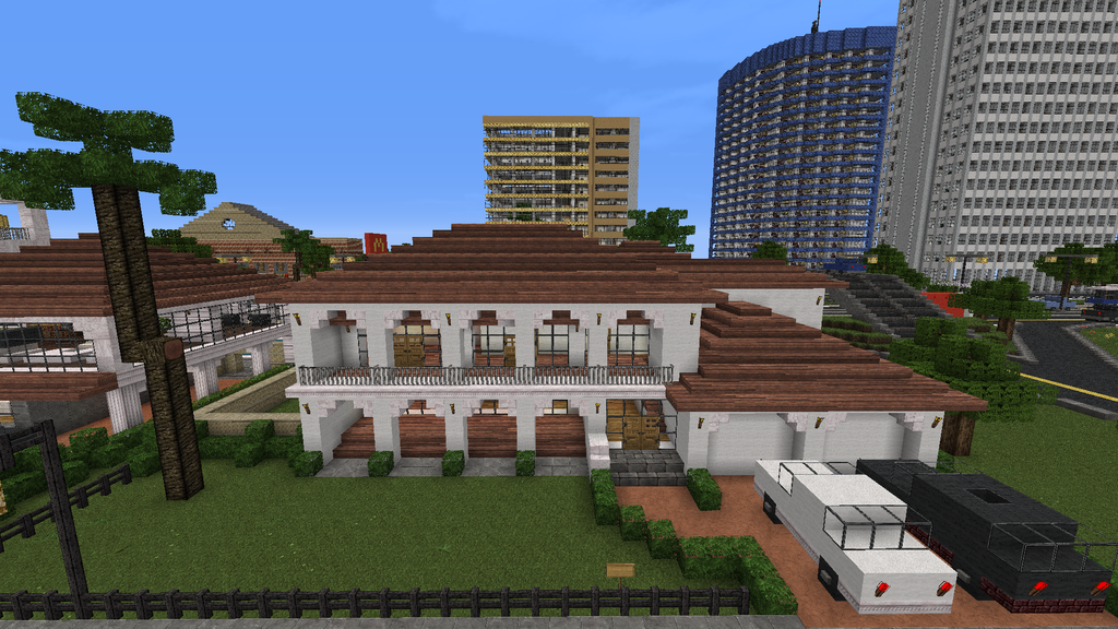 Minecraft homes minecraft spanish house style by yazur for Epic house designs