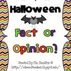 Halloween Fact or Opinion is a great addition to your Halloween literacy centers or can be used as a whole-class game to