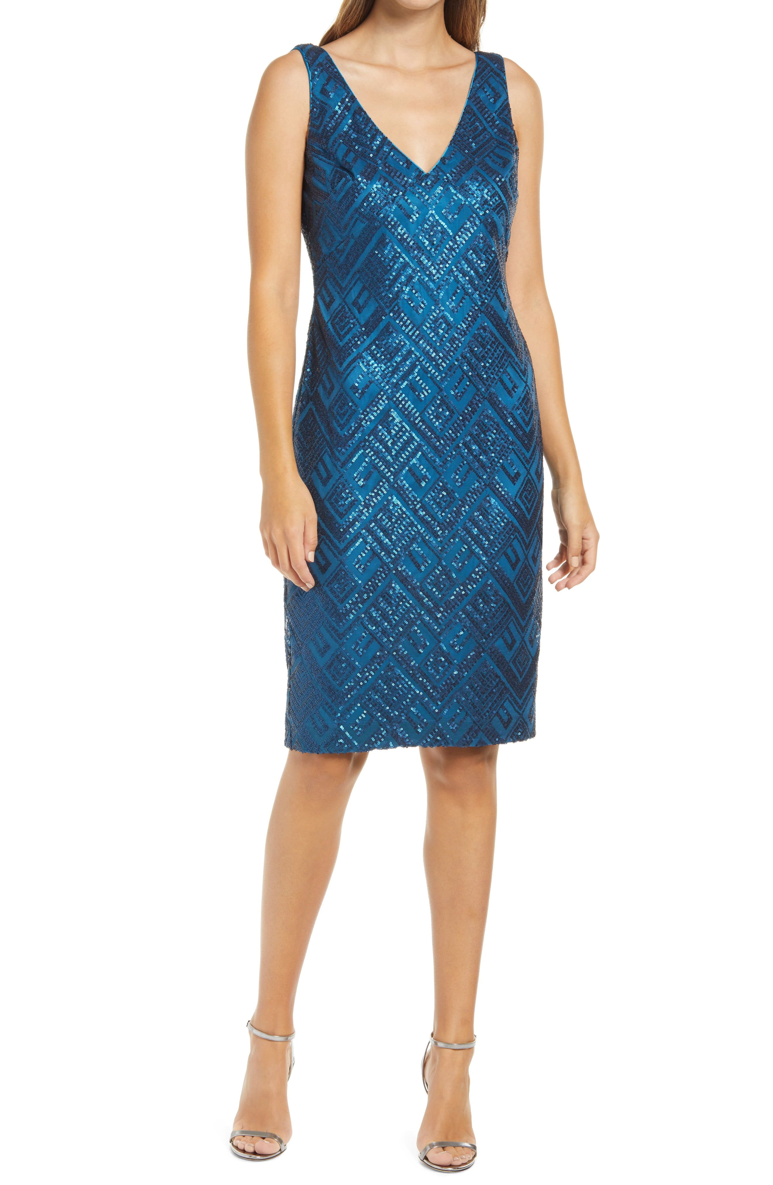 Vince Camuto Sequin Sleeveless Sheath Cocktail Dress Nordstrom In 2021 Cocktail Dress Nordstrom Dresses 1920 Outfits [ 4048 x 2640 Pixel ]