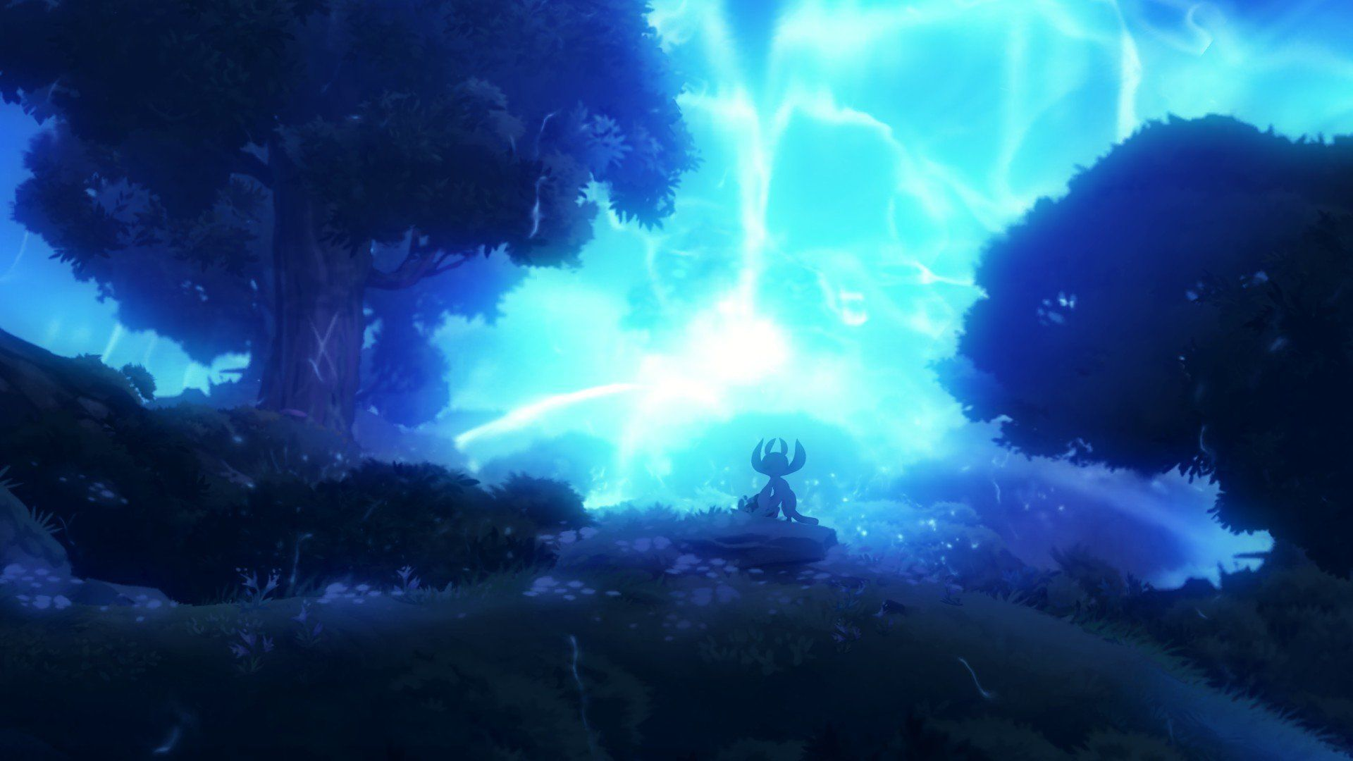 Ori And The Blind Forest Game Art Johannes Figlhuber Fantasy Art Landscapes Game Background Art Art