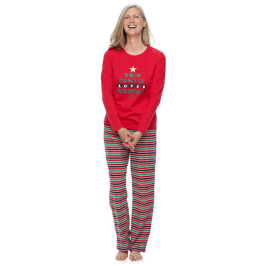 """Women's Jammies For Your Families """"This Family Loves ..."""