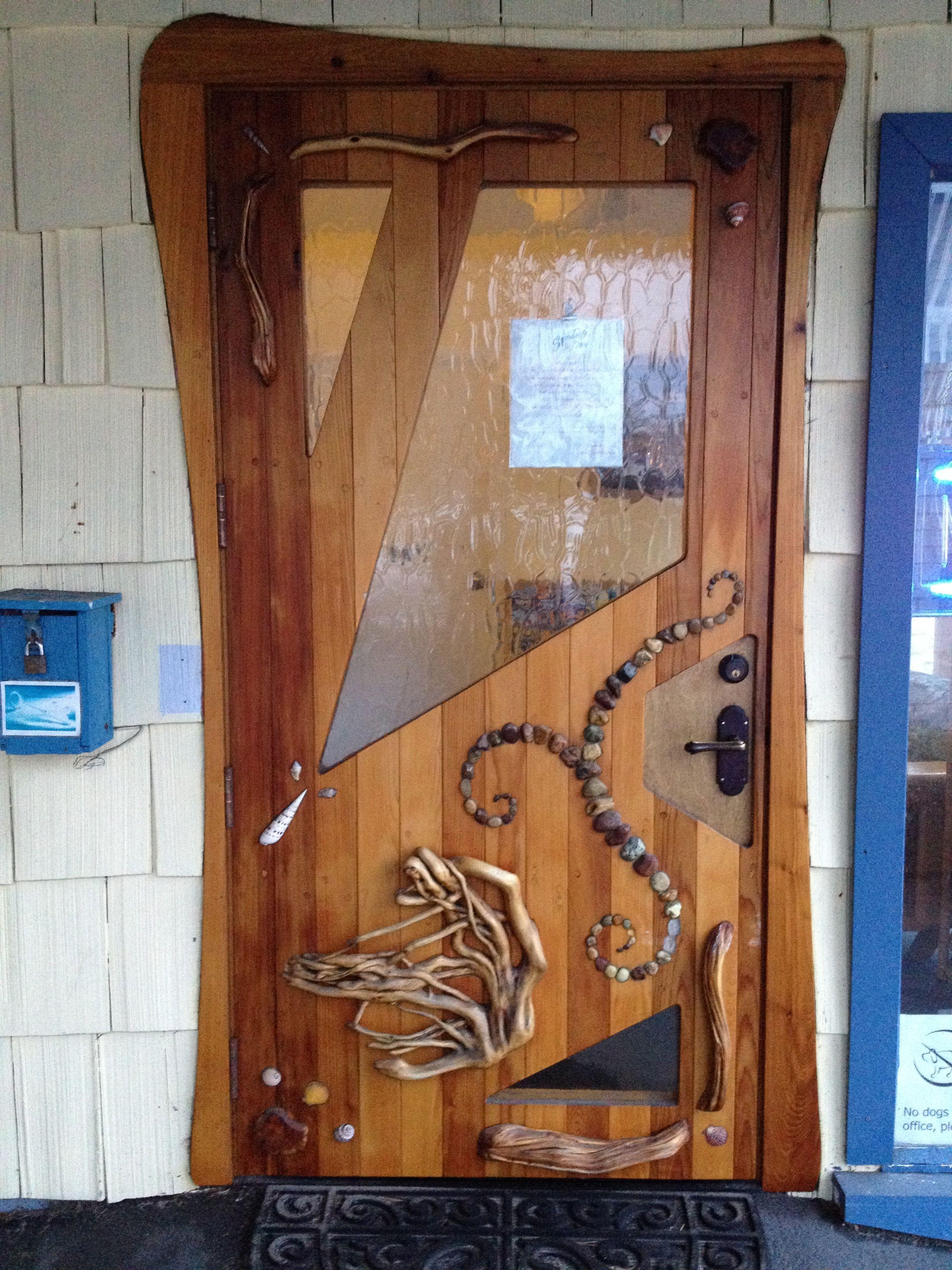 Hand made unique entry door manzanita oregon beautiful doors