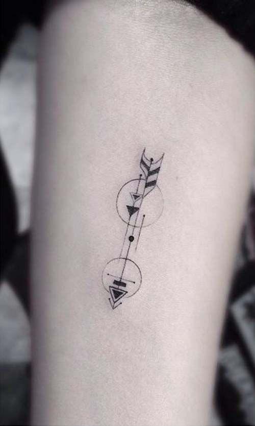 Very Decorative Arrow Tattoo Unique Yet Simple And Small Tasteful Tattoos Subtle Tattoos Tattoos