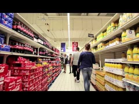 Philips Led Indoor Positioning Techology At Carrefour