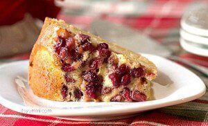 Pomegranate Lime Bundt Cake Recipe ~ on itsyummi.com