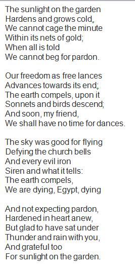 the pardon poem