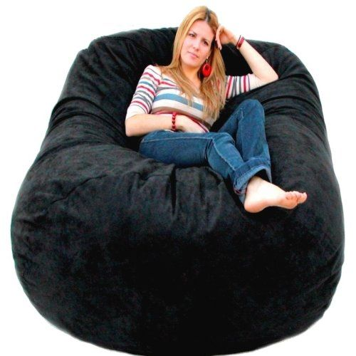 The Cozy Sac Foam Chair Is The Most Comfortable Place To
