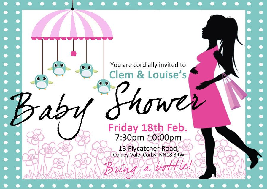 Invitation Design Idea_34 D-Zigns Pinterest Babies - baby shower invitation