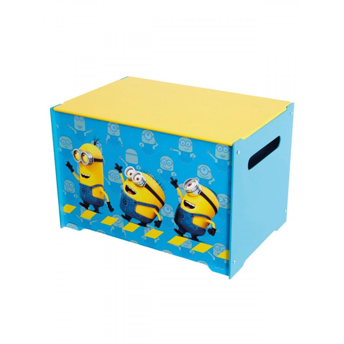 Childrens Jumbo Bedroom Room Tidy Toy Storage Chest Box Trunk: Despicable Me Minions Tidy Up Time Toy Box