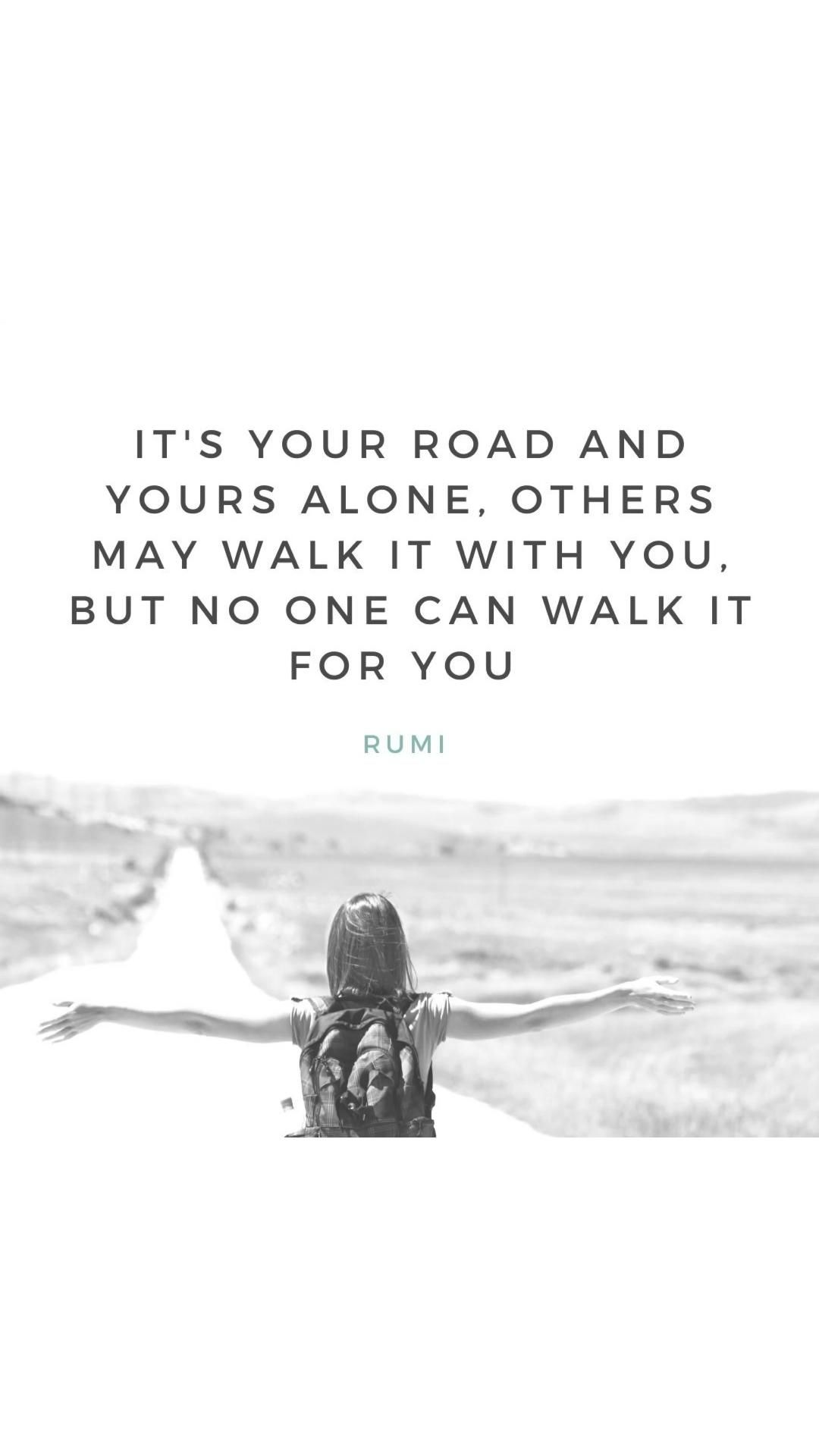 Motivational quotes on following your own path