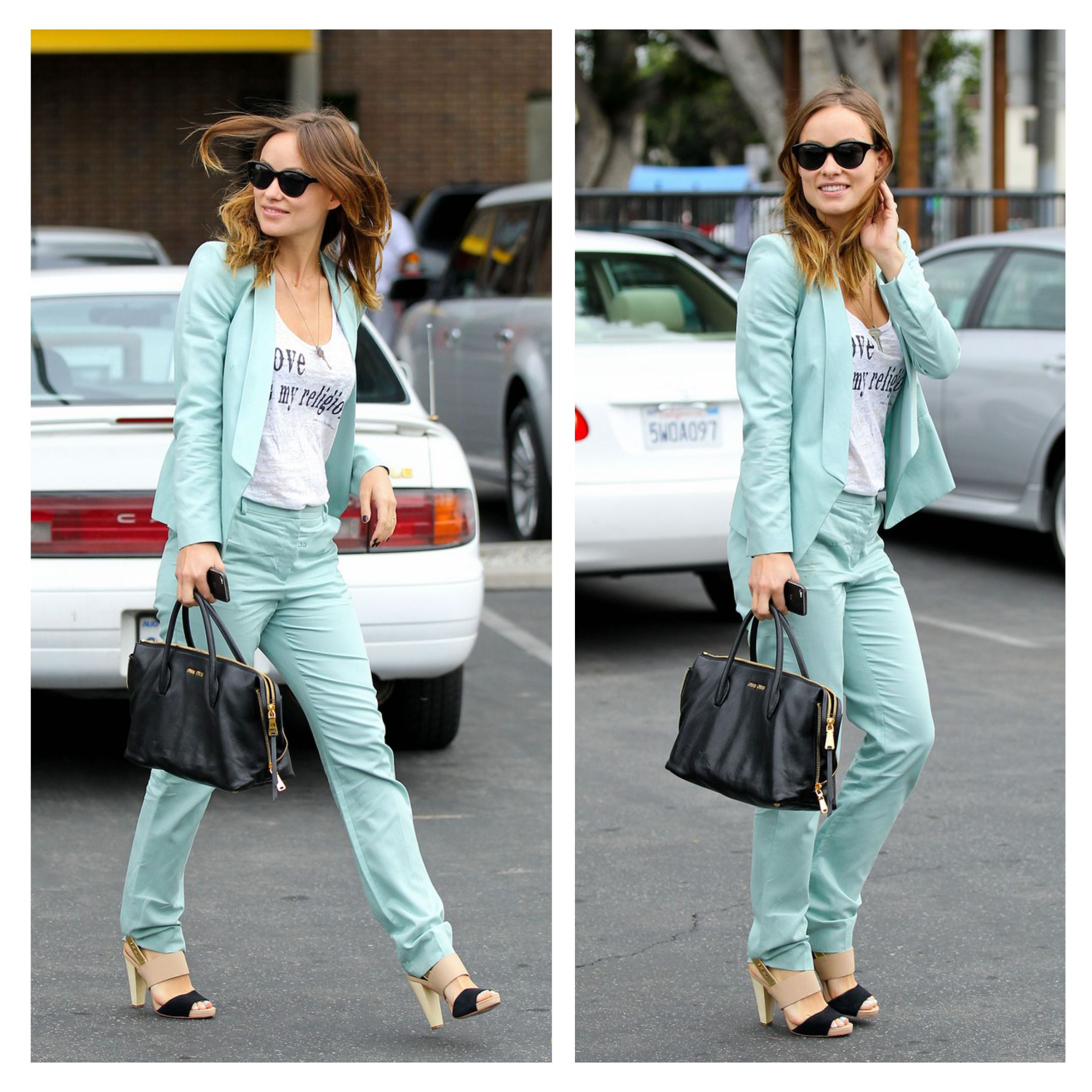 The lovely Olivia Wilde spotted in her Coye Nokes shoes while out in Los Angeles!