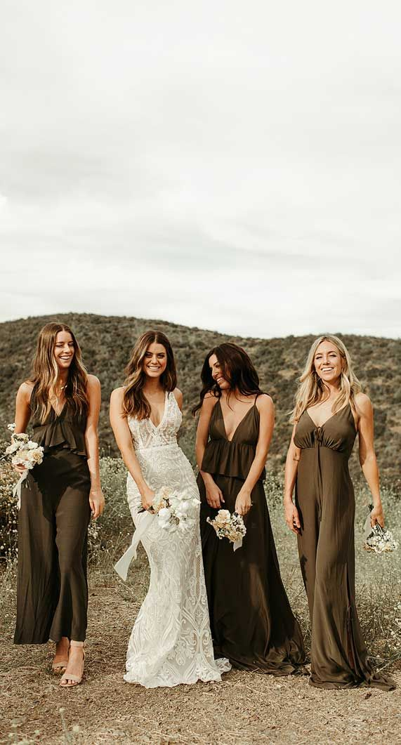 Bridesmaid Jumpsuits For A Stylish Wedding { Brides Opt Something Different }