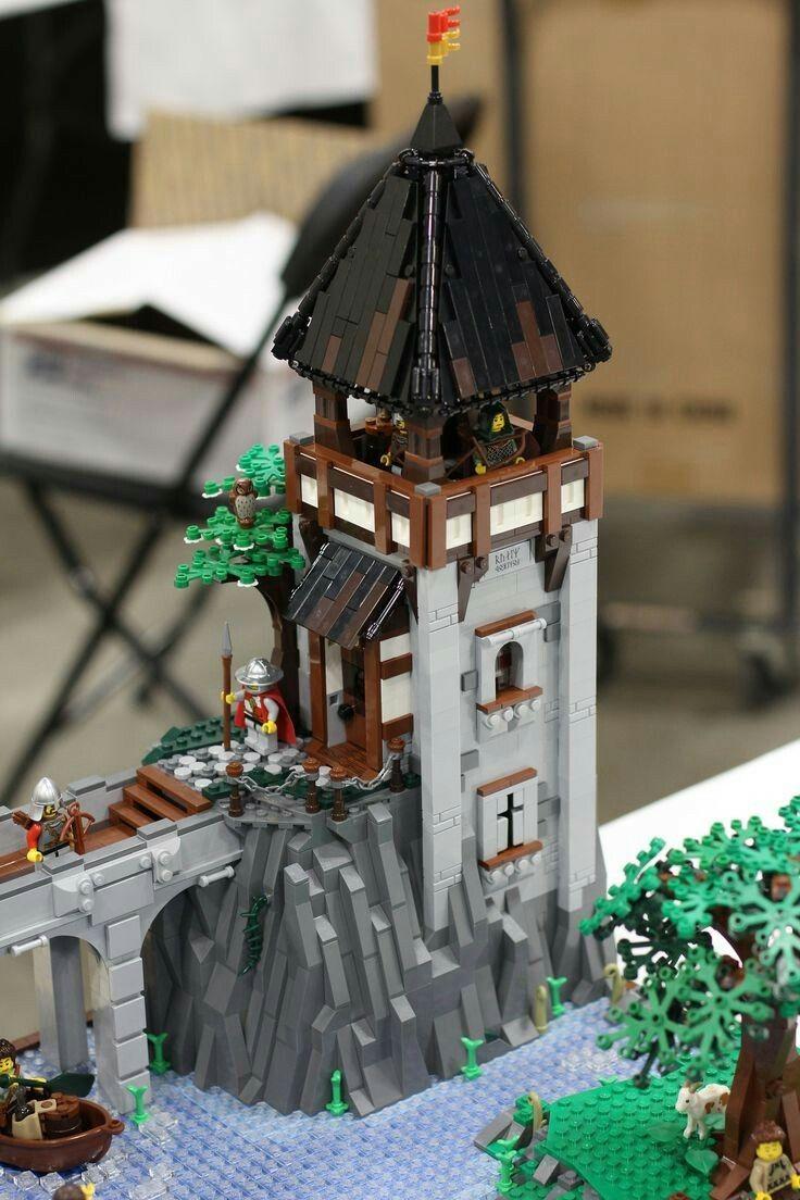 Épinglé par bjoern kufahl sur lego ideen | pinterest | châteaux