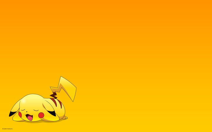 Pokemon Pikachu Yellow Wallpaper Celwall Pikachu Wallpaper Cartoon Wallpaper Hd Pikachu