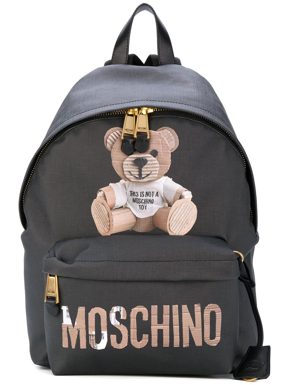 7661767b9e8c MOSCHINO BLACK.  moschino  bags  leather  backpacks