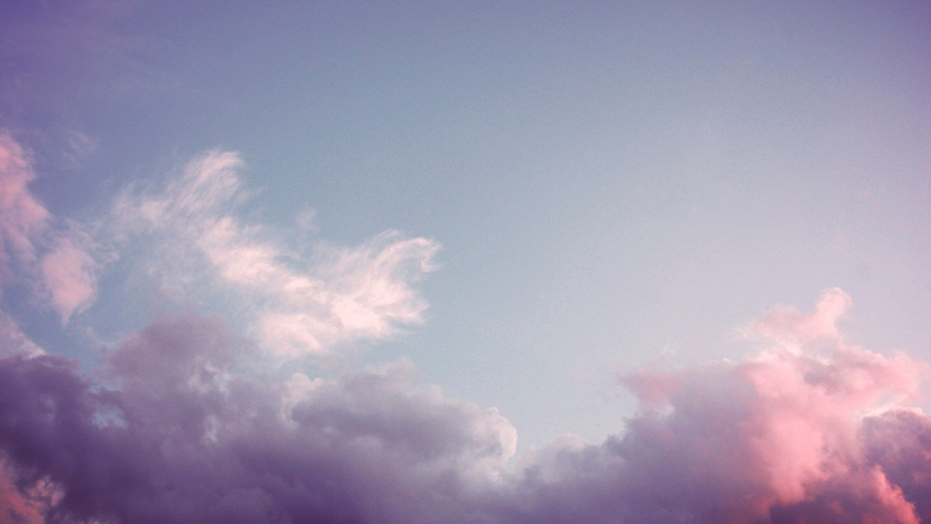 Sky High Resolution Wallpapers Widescreen Laptop Wallpaper Pink Clouds Wallpaper Aesthetic Desktop Wallpaper Aesthetic clouds wallpaper laptop hd