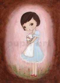Dievčatko s jahniatkom