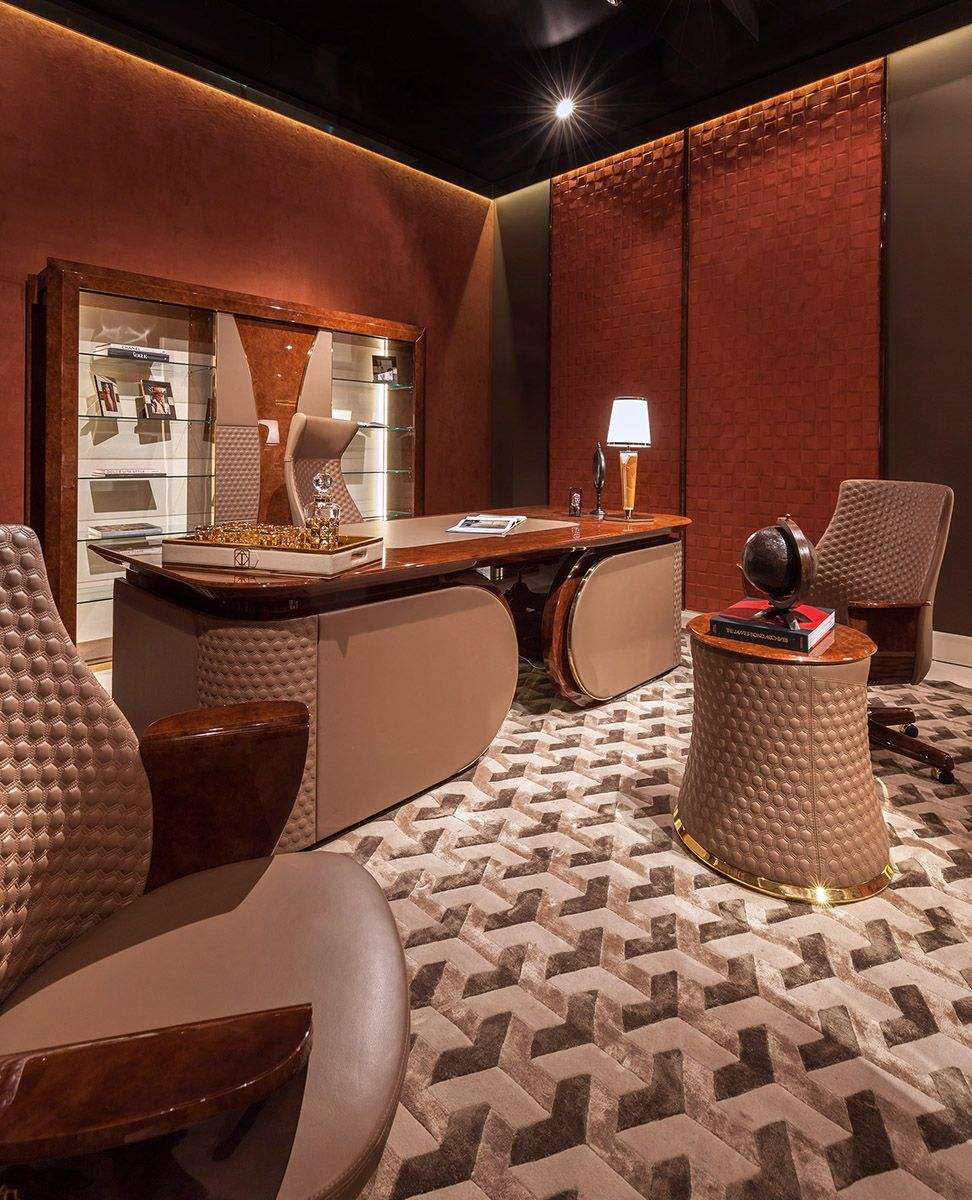 Upscale Home Office Furniture: Vogue Collection Www.turri.it Italian Luxury Office