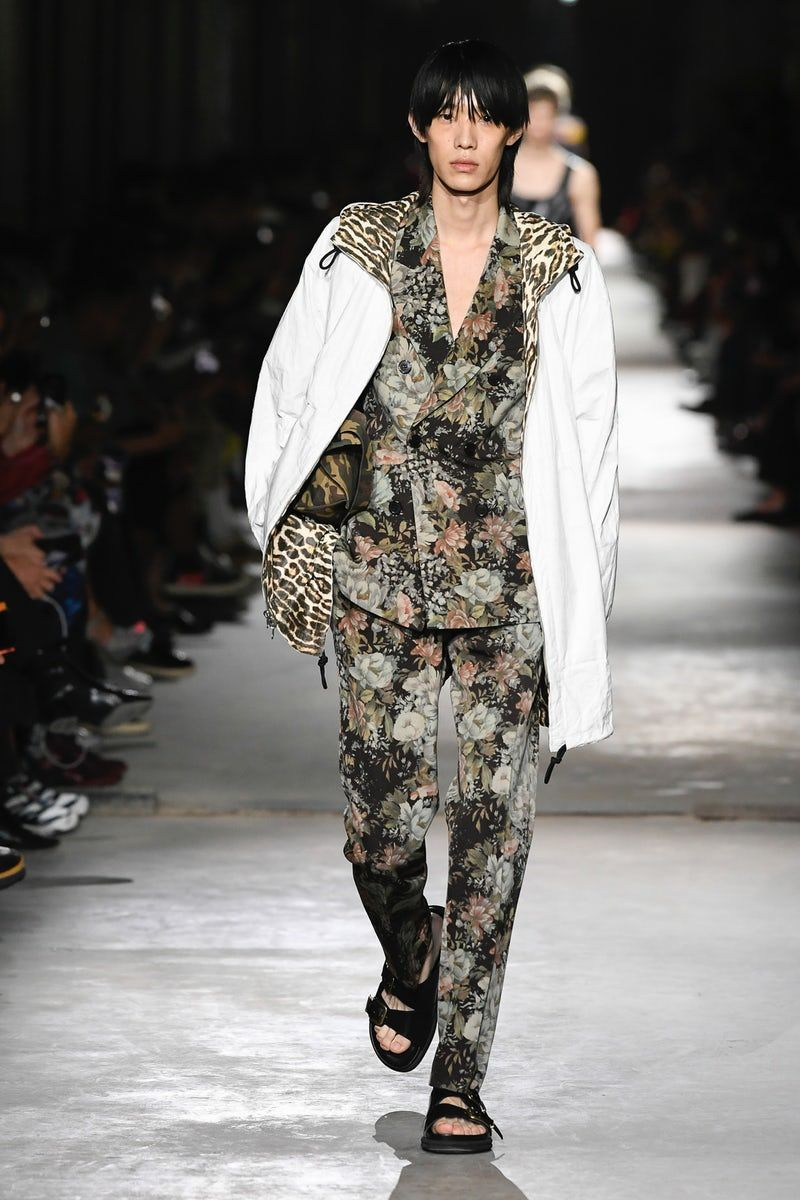 Dries Van Noten Menswear Spring 2020 Look 4 Menswear Fashion Fashion Week