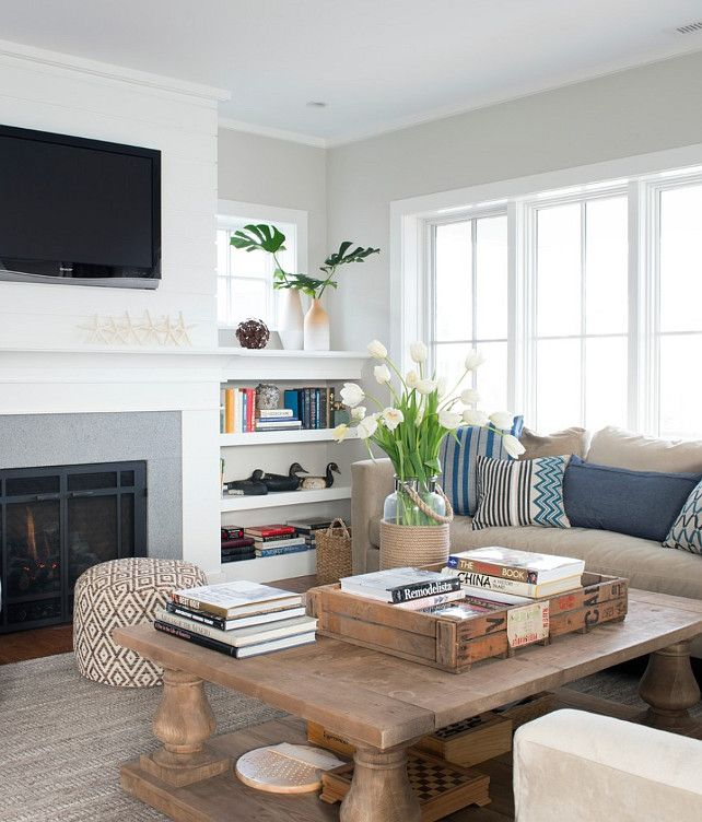 Beach House Tour Of A Prefab Beachy Home With Coastal Style Living Pleasing Coastal Design Living Room Inspiration