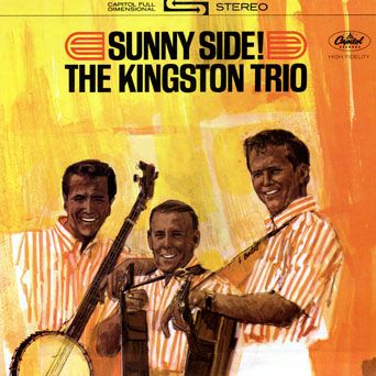 The Kingston Trio Sunny Side Vinyl Lp Folk Lp Covers 1950