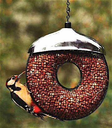 Doughnut Peanut Feeder Bird Feeders Peanut Bird Feeder Birdhouses Bird Feeders