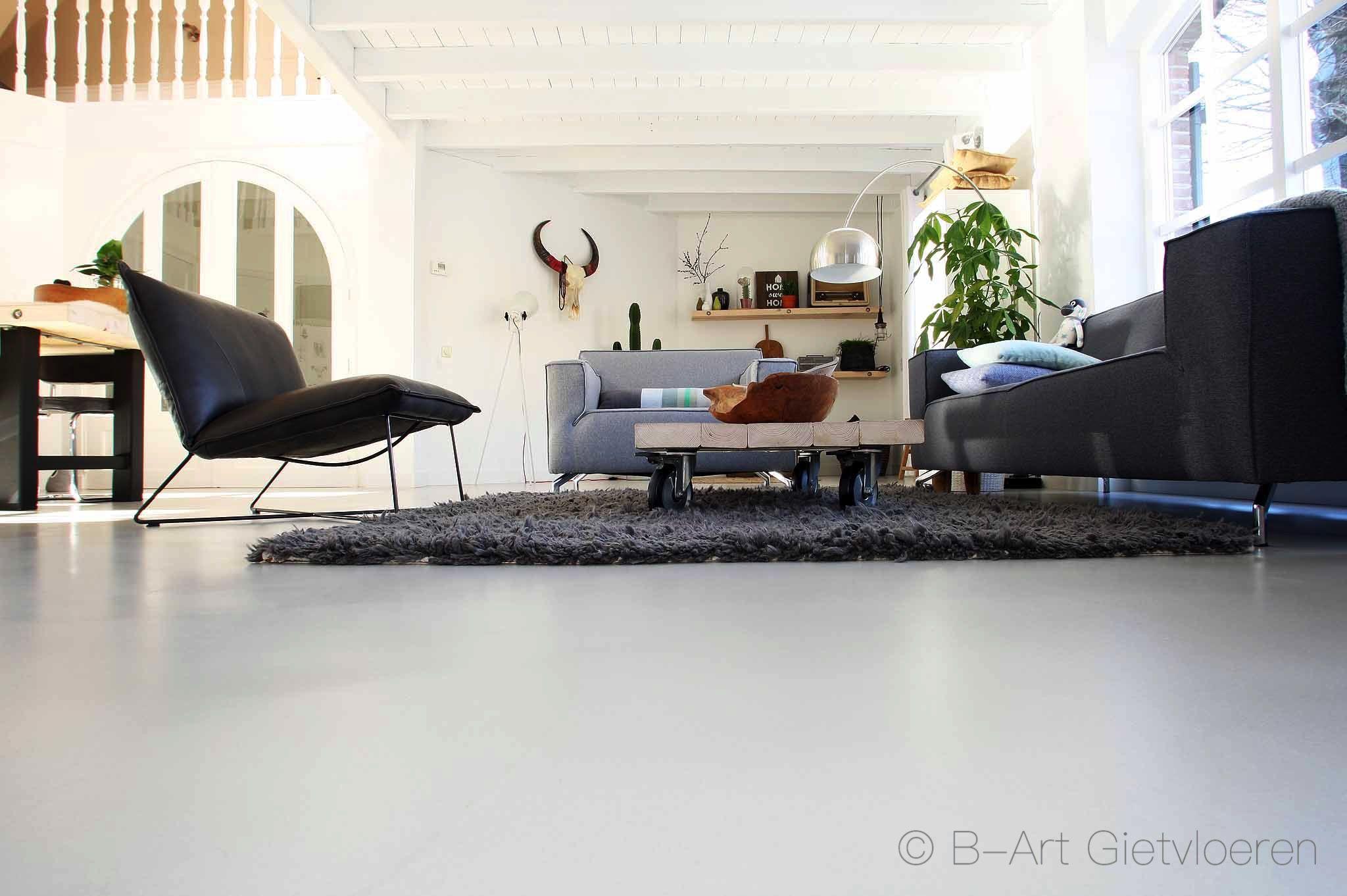 Gietvloer In Woonkamer : Concrete art gietvloer reek woonkamer .jpg 2048×1362 moodboard