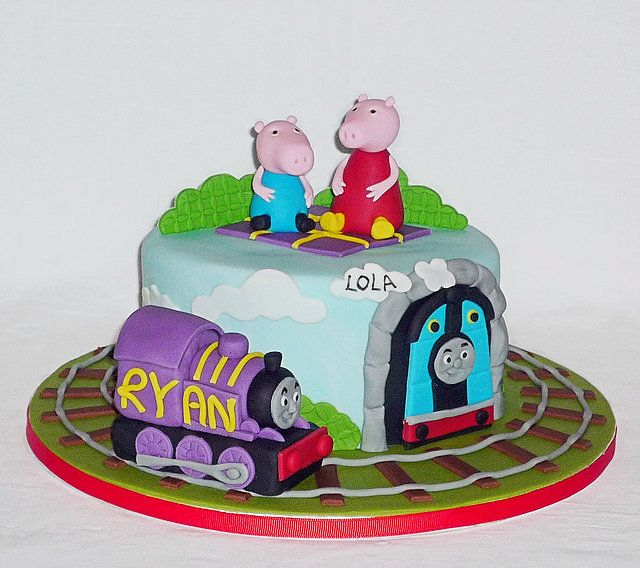 Peppa Pig And Ryan The Train From Thomas The Tank Engine Bespoke