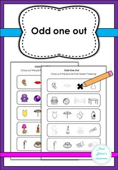 Odd One Out- Special Education