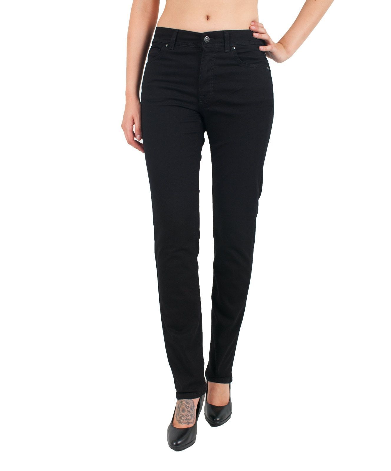 Angels Jeans Cici Ultra Power Stretch Everblack