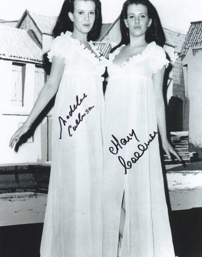 and twins Mary lesbian collinson madeleine