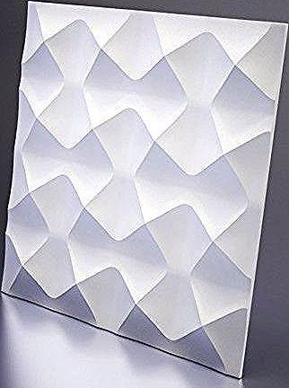 Décor mural Aura Très jeune et chic a la fois le Panneau mural est fait pour vous Plongez dans lunivers des formes geometriques avec ces motifs en 3D