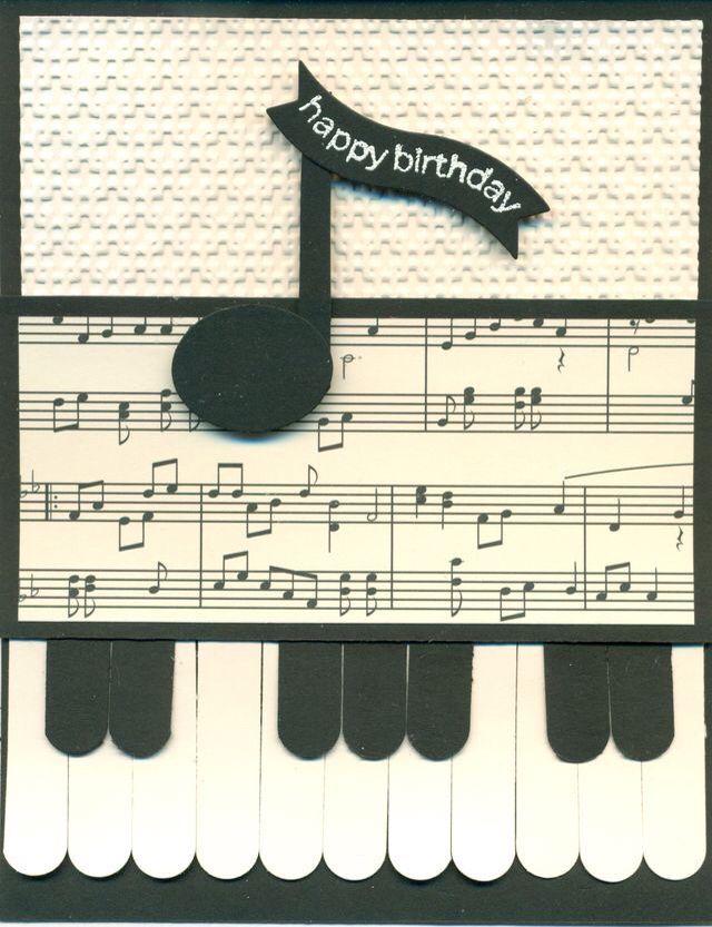 ┌iiiii┐ happy birthday  punch cards creative cards