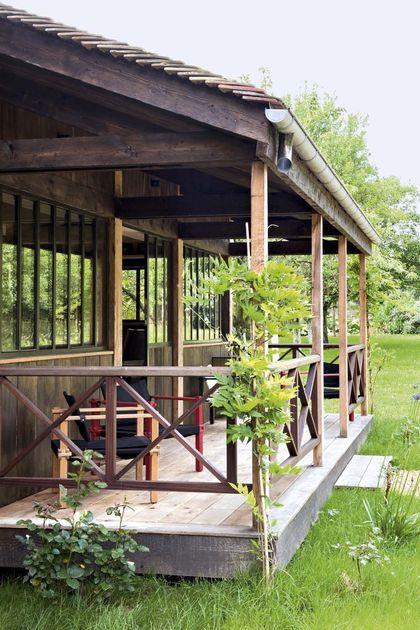 Sarah Lavoine  sa maison de campagne en photos Outdoor spaces - location maison cap d agde avec piscine