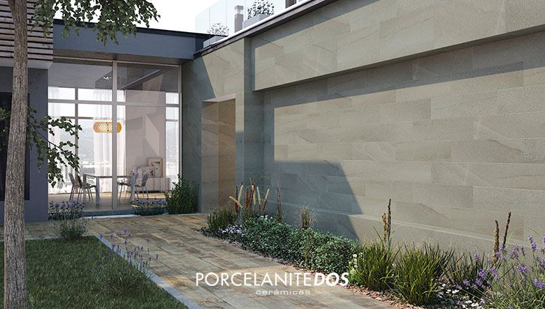 Porcelanico exterior para terrazas style home decoration pinterest baldosa decoracion de - Ceramica pared exterior ...