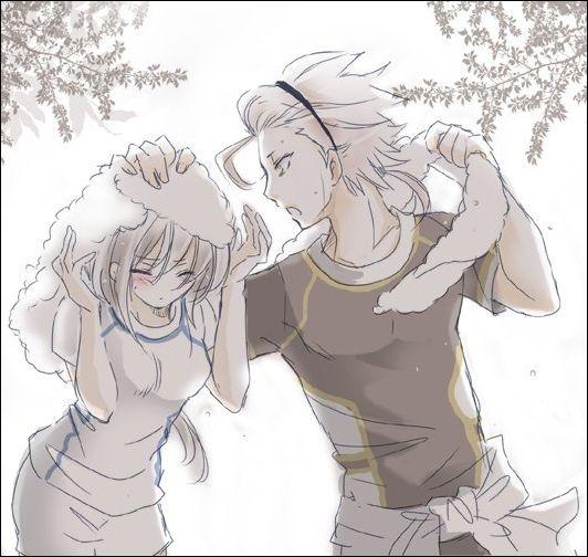 Kamigami no Asobi - Takeru and Yui