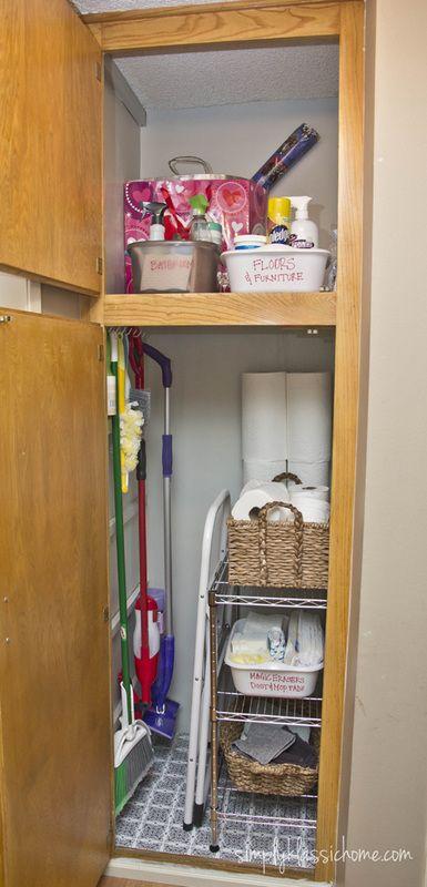 Broom Closet Broom Closet Organizer Cleaning Closet Broom Closet